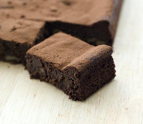 Brownie-Adzukibean-Blacksesame