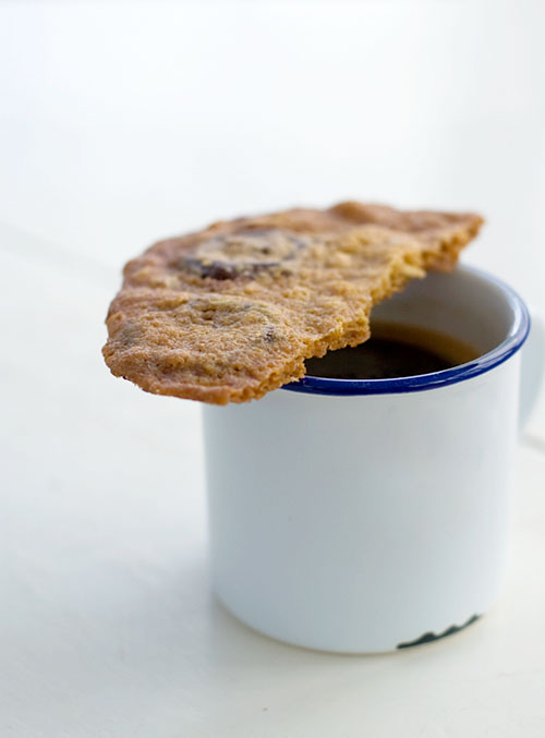 lemonpi » Ultrathin chocolate chunk cookies