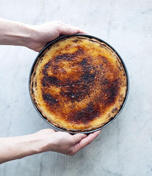 Vanilla Brulee Tart